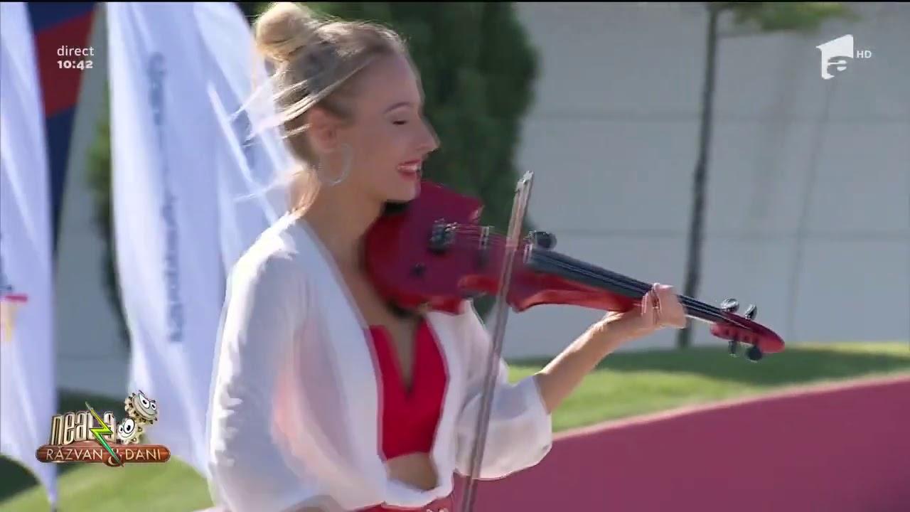 JERUSALEMA Challenge - Sax&Violin cover - Amadeea & Veran