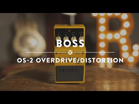 Boss OS-2 Overdrive/Distortion | Reverb Demo Video