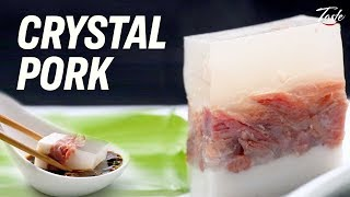How crystal pork is made • Taste The Chinese Recipes Show
