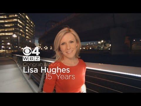Celebrating Lisa Hughes' 15 Years on Boston TV!