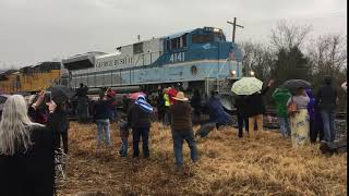 George H.W. Bush's: Funeral Train to College Station TX