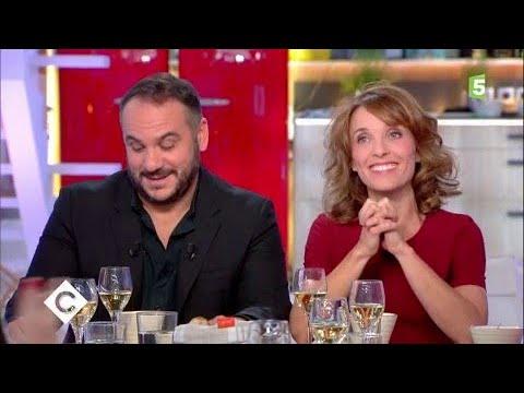 François-Xavier Demaison et Alix Poisson au dîner - C à Vous - 19/09/2017