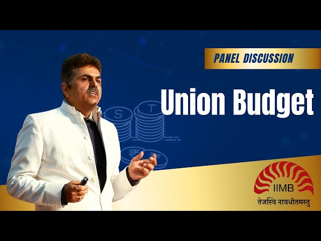 Union Budget 2018 First Cut reaction on Capital Gains by Jugdish Ahuja @ IIM Bangalore