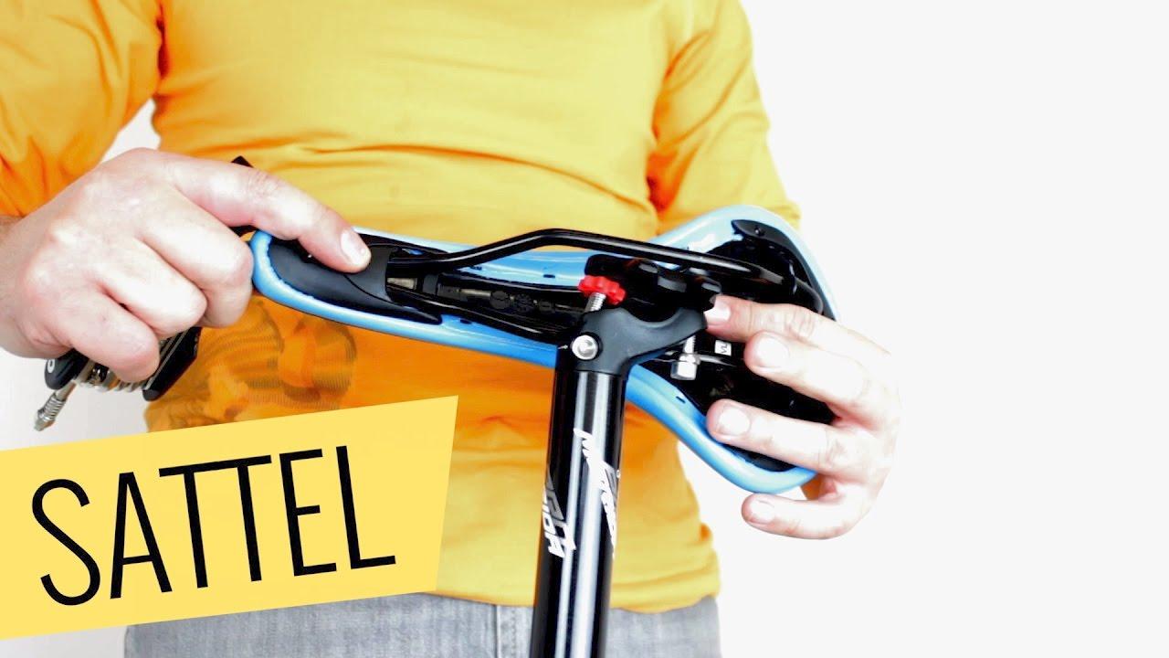 fahrrad sattel wechseln einfach schnell youtube. Black Bedroom Furniture Sets. Home Design Ideas