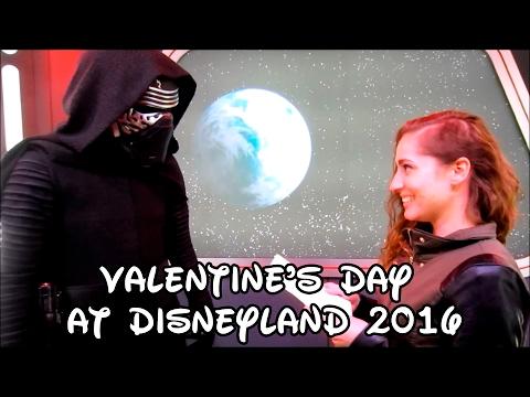 Valentine's Day at Disneyland 2016