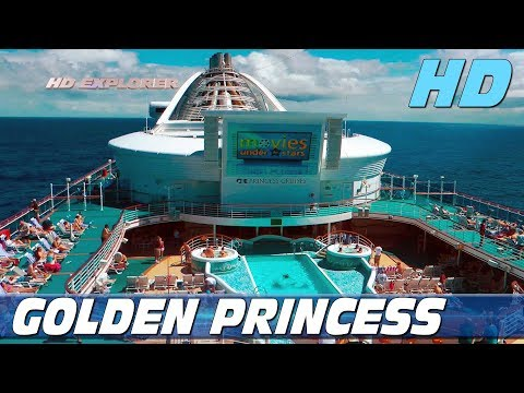 Golden Princess - Exploring The Ship