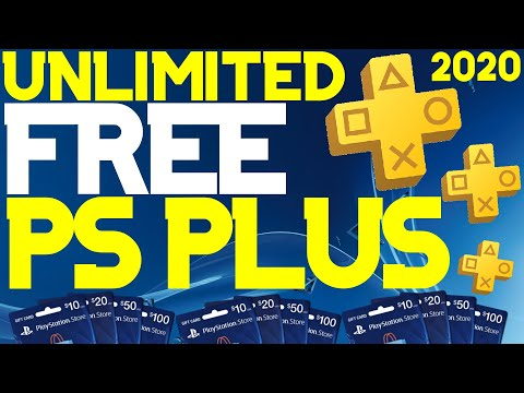 *NEW* How to get FREE PS PLUS! UNLIMITED FREE PLAYSTATION PLUS TRIAL Method 2020! *Working*