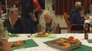 Maandelijkse maaltijd voor ouderen en alleenstaanden