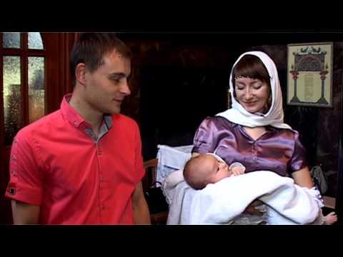 Видеосъемка крещения Егора. Киев.