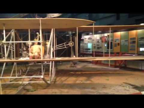 Actual Wright brothers plane, Dayton, Ohio