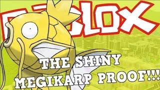 HERE IS THE SHINY MAGIKARP CHAIN PROOF!!! | Roblox Pokemon Brick Bronze