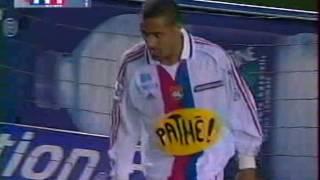 Lille-Lyon (1-2), 28 avril 2001