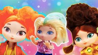 Сборник игр с куклами. Принцесса София и игрушки из мультиков Сказочный Патруль