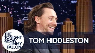 Tom Hiddleston Reacts to Unreleased Footage of Him Auditioning as Thor