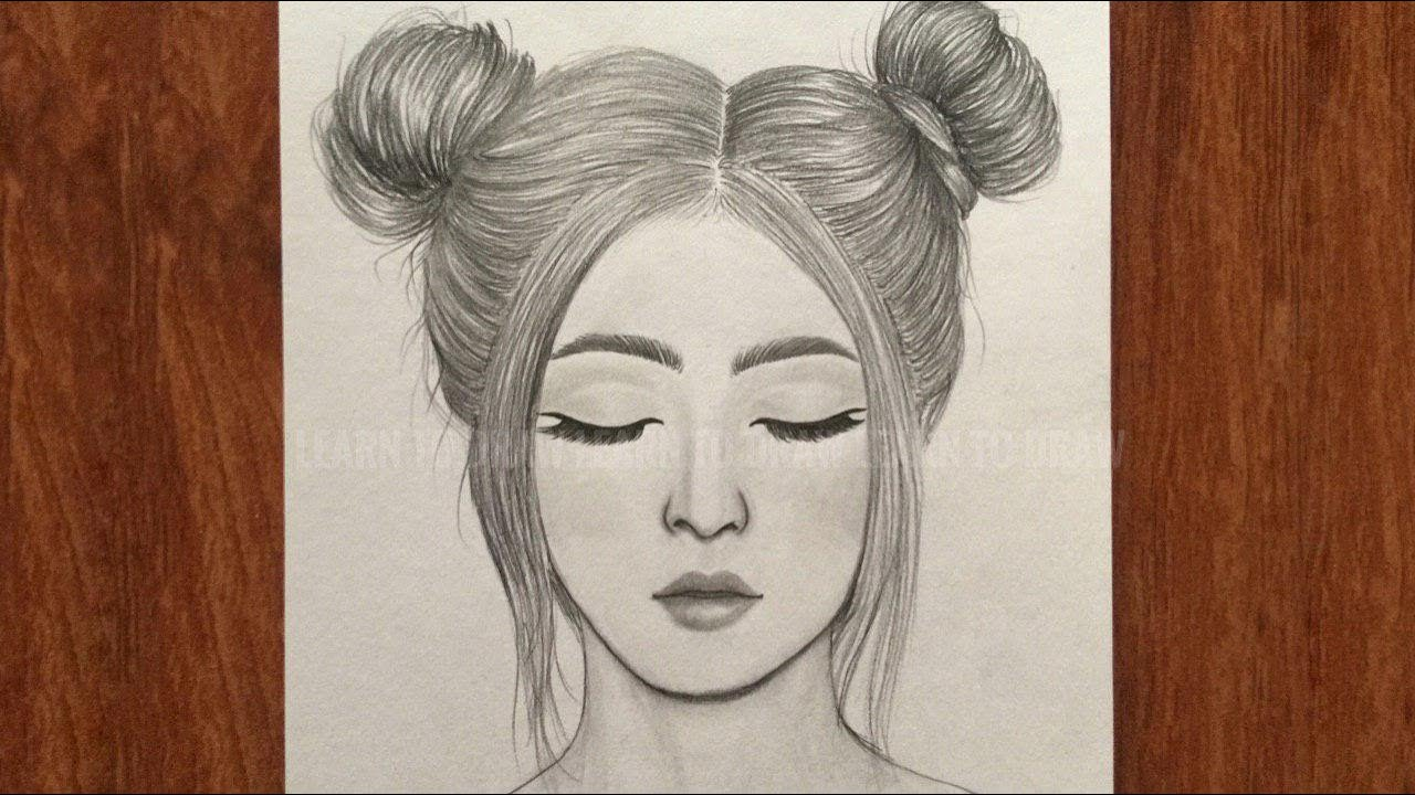 Easy Girl Drawing | Free download on ClipArtMag |Simple Girl Drawing