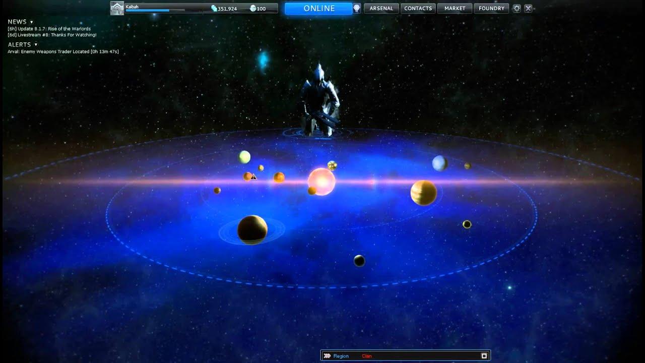 Warframe The Star Map Music Youtube