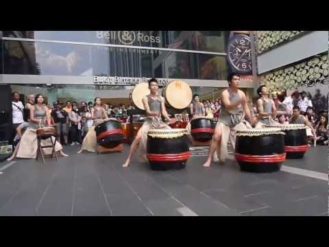 Malaysian Chinese Drum - Opening Performance