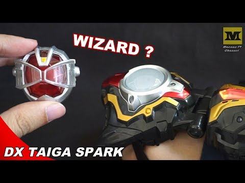 DX Taiga Spark + WIZARD Ring (Ultraman Taiga + Kamen Rider Wizard) ウルトラマンタイガ 仮面ライダーウィザード