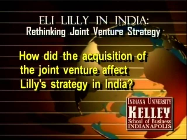 rethinking the joint venture strategy in Need essay sample on eli lilly in india: rethinking the joint venture strategywe will write a custom essay sample specifically for you for only $ 1390/page.