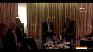 الأخبار - وزير الخارجية سامح شكري يلتقي المبعوث الأمريكي لأزمة قطر