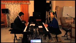 Lara and Jonathan play 'Walking in the Air' from 'The Snowman'