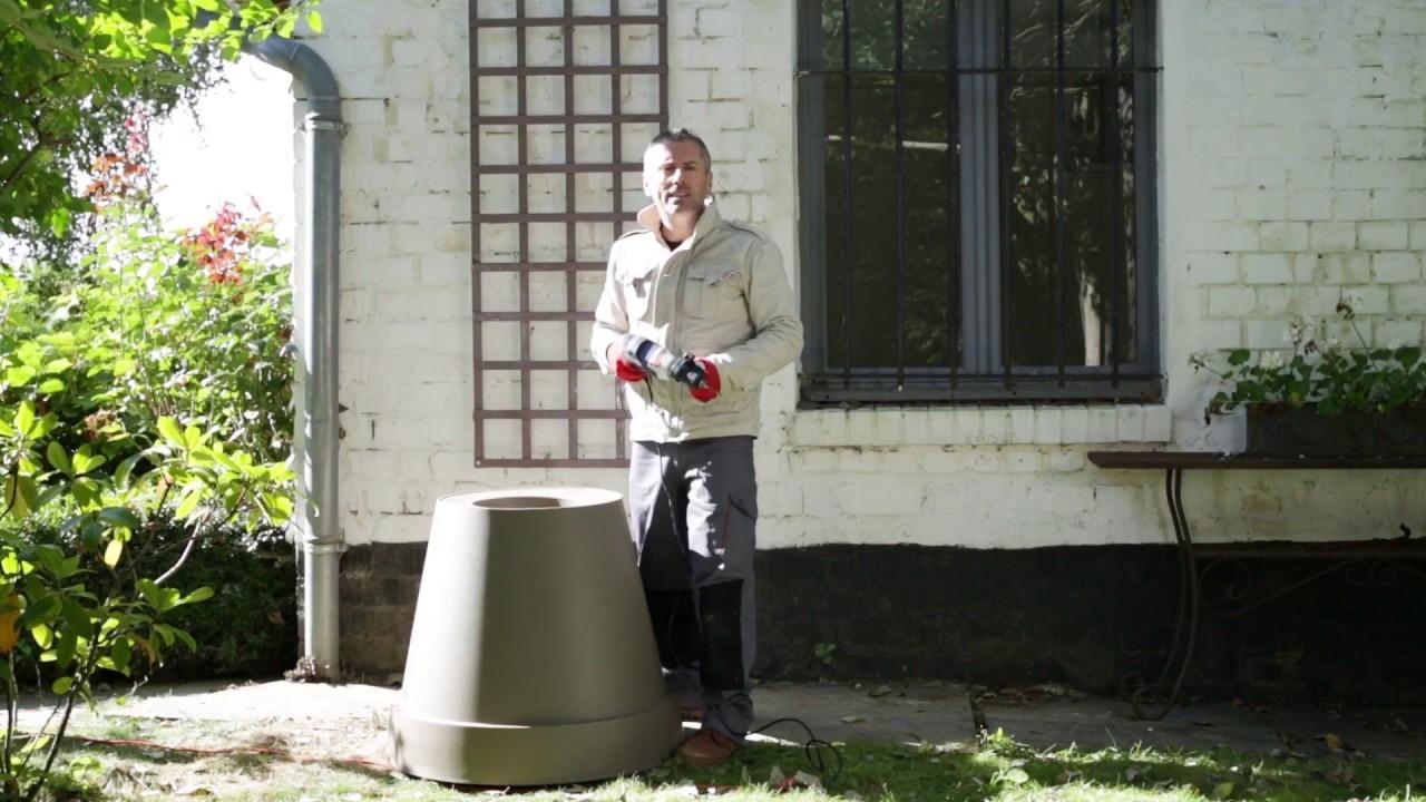 installer un treillis pour ses plantes grimpantes youtube. Black Bedroom Furniture Sets. Home Design Ideas