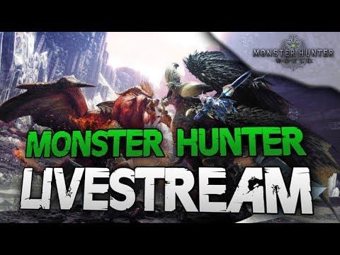 Ein gechillter Hunt - Monster Hunter World Livestream Deutsch thumbnail