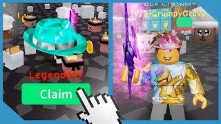 New Update! Legendary Hats + Pets! Got Best Sword! - Roblox Unboxing Simulator