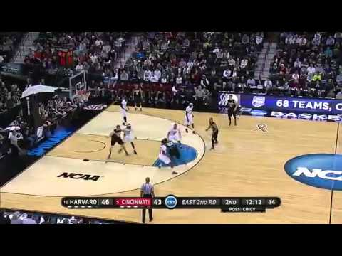 2014 NCAA Basketball Tournament   12 Harvard UPSETS 5 Cincinnati 61 57