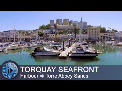 Torquay Harbour to Torre Abbey Sands. English Riviera (Torbay), Devon. Walks