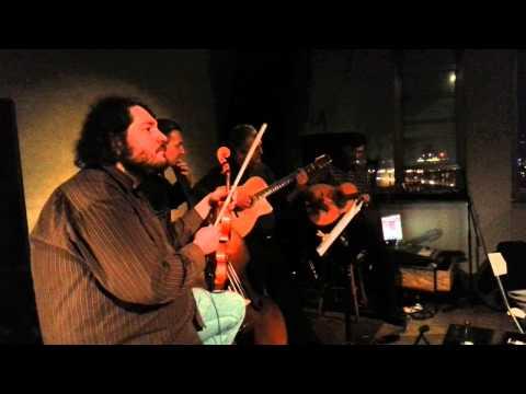 Hot Club of Belgrade / gypsy jazz / Jazz club Cekaonica / jan.2013
