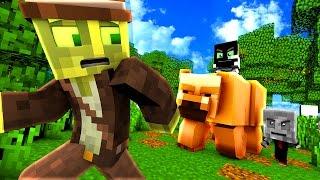 BABYS in DER WILDNIS?! - Minecraft BABYCRAFT