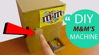 How to Make M&M's Candy Machine at Home // HomeCraft