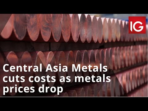 Central Asia Metals Cuts Costs As Metals Prices Drop