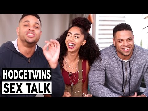 HODGE Twins on Being shy and Cream Pies: Sex Talk