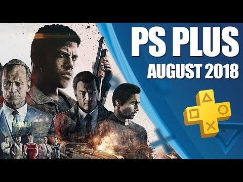 PlayStation Plus Monthly Games - August 2018