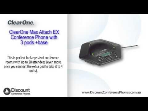 ClearOne Max Attach Video Overview