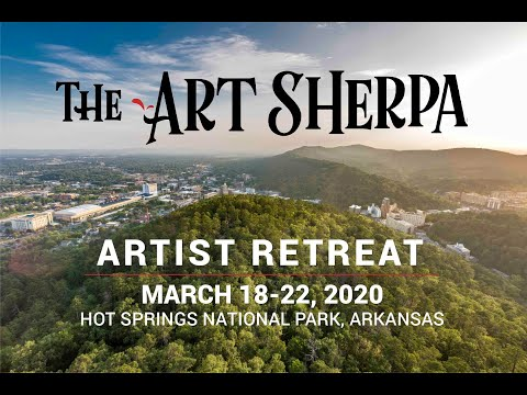 The Art Sherpa March 2020 Art Retreat