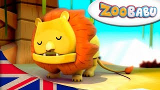 Zoobabu | Lion AND MORE | Cartoons for Children