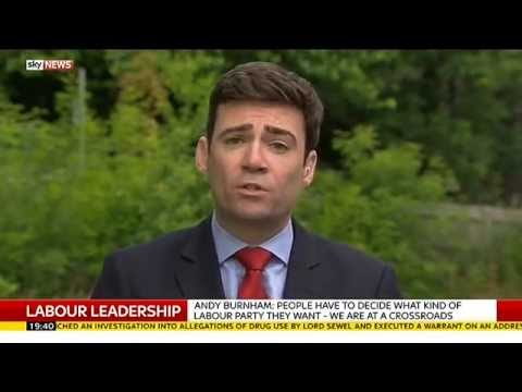 Andy Burnham On Labour Leadership & Jeremy Corbyn