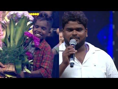 Super singer 6 / 2nd Runner up / Poovaiyar / Unforgettable moments/ Vijay television