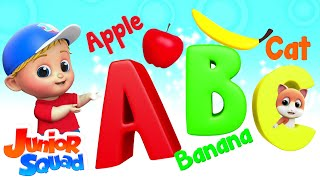 Phonics Song | ABC Alphabets Songs For Kids | Nursery Rhymes By Junior Squad