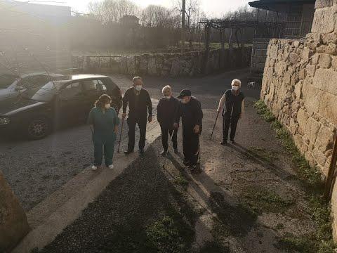 Los usuarios de residencias en Ourense ya disfrutan de paseos