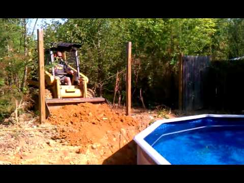 Bury An Above Ground Pool 5 Youtube