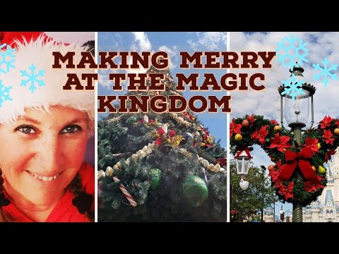 Making MERRY At Magic Kingdom With Beth