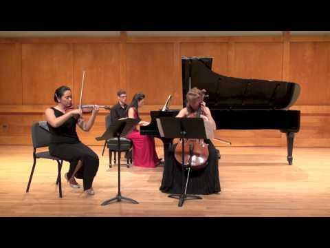 """Haydn """"Trio in E major"""" Trio Artica, SUNY-SB"""