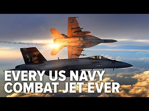All The US Navy Combat Jets In History