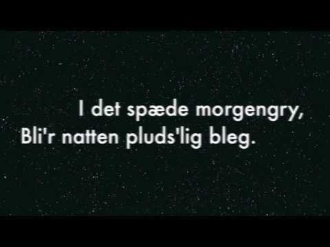 I Det Spæde Morgengry. Dansk sang af Claus Flygare og Ib Kornum Jørgensen.