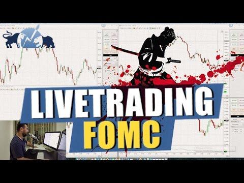 Harakiri beim FOMC LiveTrading #TRADEDERWOCHE