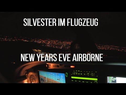 Silvester über Nürnberg: 2017 gestartet, 2018 gelandet - (en) New Years Eve overhead the city!